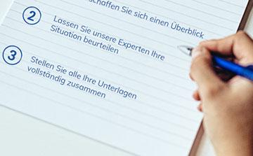 Stift schreiben