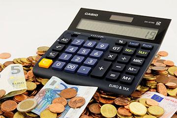 Ratenhöhe Taschenrechner auf Geldberg
