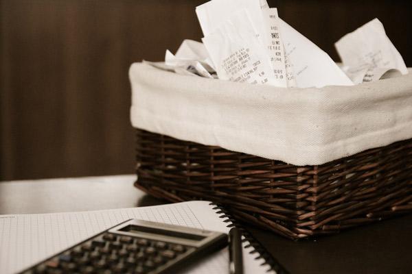 Schulden Rechnungen