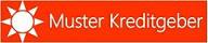 Logo Muster Kreditgeber
